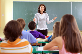 teacher-classroom